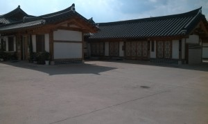 Traditional Hannok Village. You can spend the night.