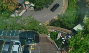 View from cable car 1